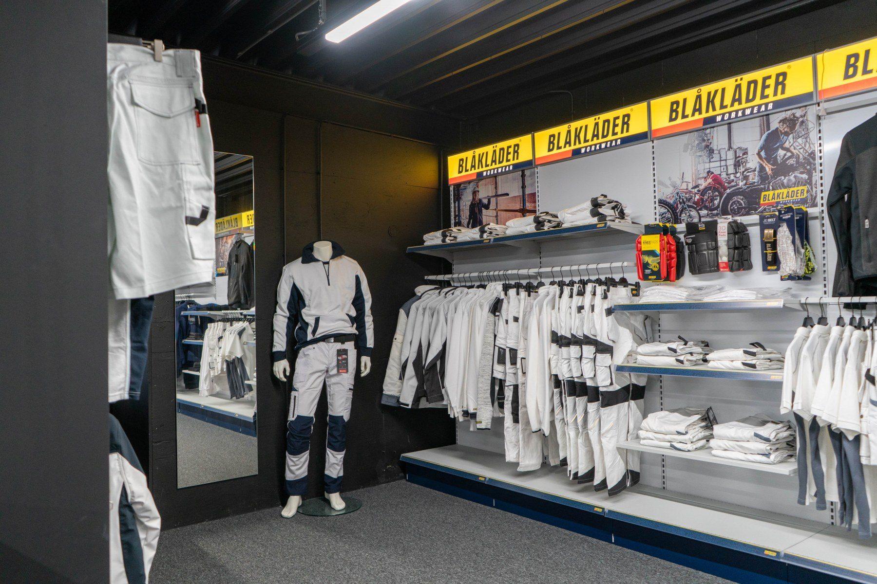 Woodfield Workwear Eindhoven witte kleding