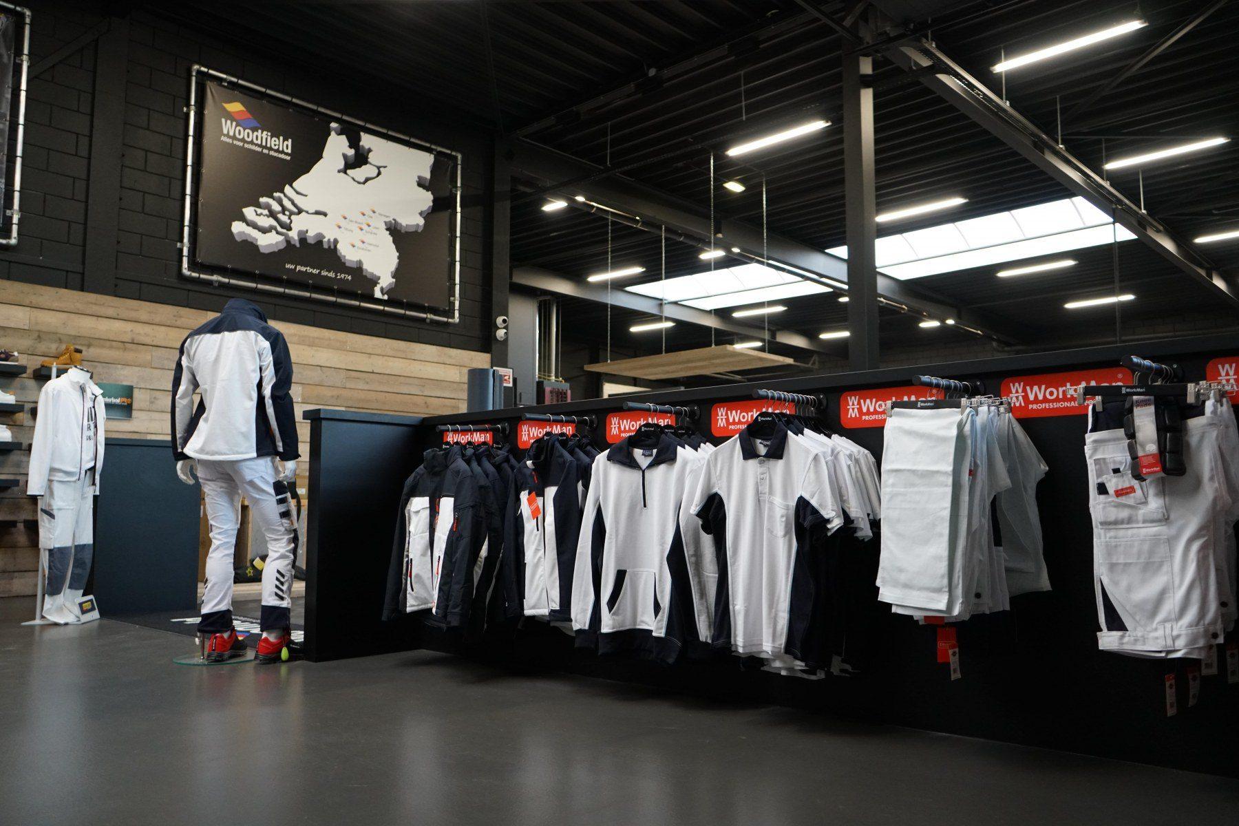 Woodfield Workwear Nijmegen voorkant